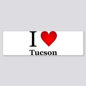 I Love Tucson Sticker (Bumper)