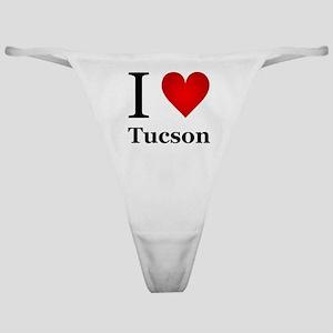 I Love Tucson Classic Thong