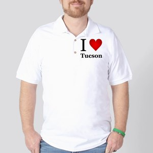 I Love Tucson Golf Shirt