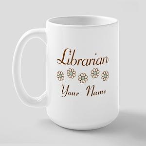 Librarian (daisy) Large Mug