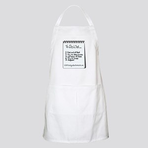"""The """"To Do"""" List BBQ Apron"""
