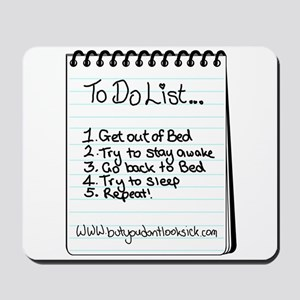 "The ""To Do"" List Mousepad"