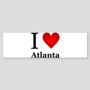 I Love Atlanta Sticker (Bumper)
