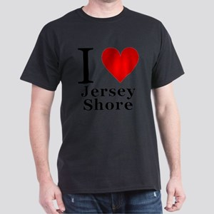 I Love Jersey Shore Dark T-Shirt