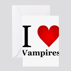 ilovevampires Greeting Card