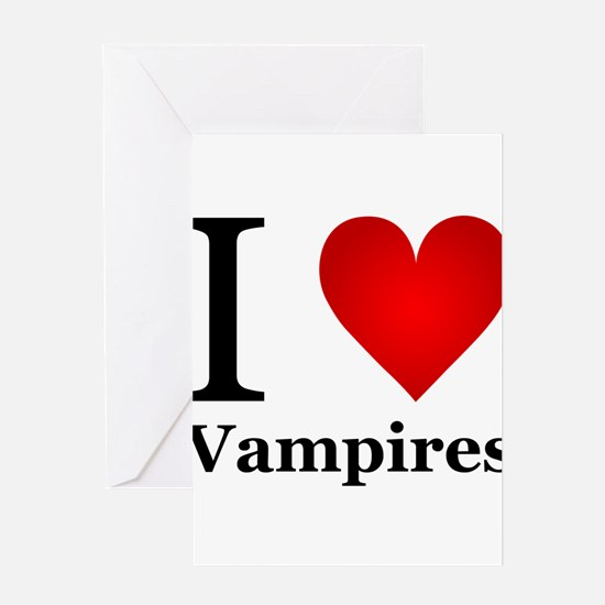 ilovevampires.png Greeting Card