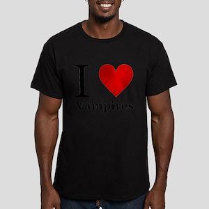 ilovevampires Men's Fitted T-Shirt (dark)