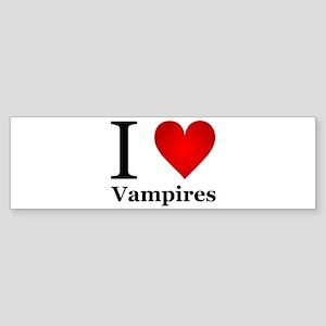 ilovevampires Sticker (Bumper)