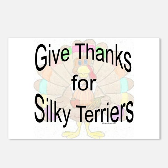 Thanks for Silky Terrier Postcards (Package of 8)