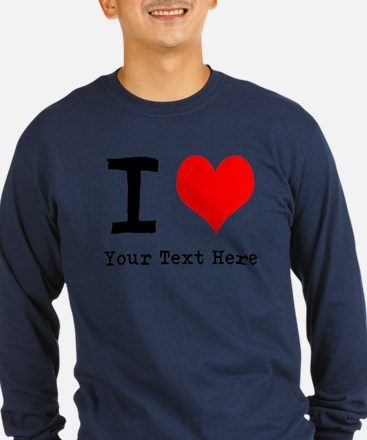 I Heart (personalized) T