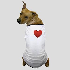 i-love-west-coast-dark Dog T-Shirt