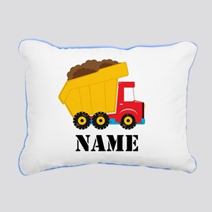 Personalized Dump Truck Pillow