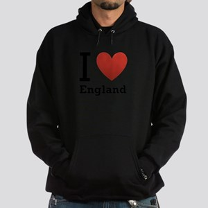 i-love-england-light-tee Hoodie (dark)