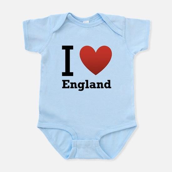 i-love-england-light-tee.png Infant Bodysuit