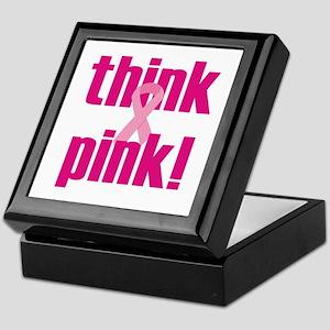 Think Pink! Keepsake Box