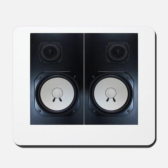 Vintage Speakers Mousepad
