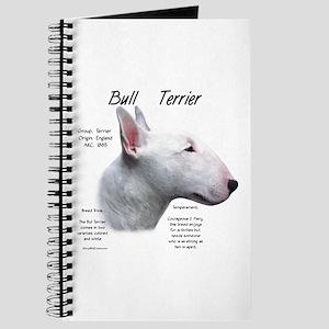 Bull Terrier (white) Journal