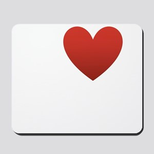 i-love-my-husband Mousepad