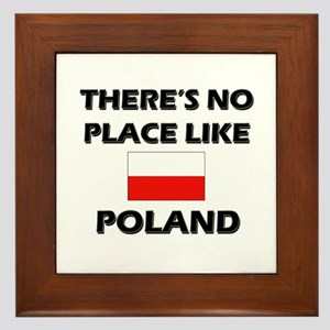 There Is No Place Like Poland Framed Tile