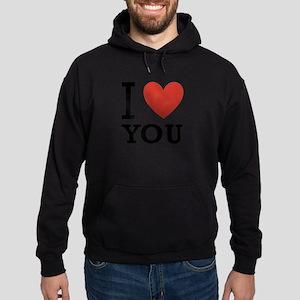 i-love-you-2 Hoodie (dark)