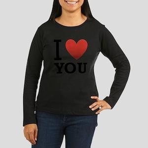 i-love-you-2 Women's Long Sleeve Dark T-Shirt