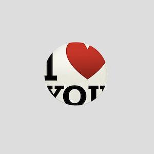 i-love-you-2 Mini Button