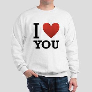 i-love-you-2 Sweatshirt