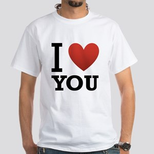 i-love-you-2 White T-Shirt