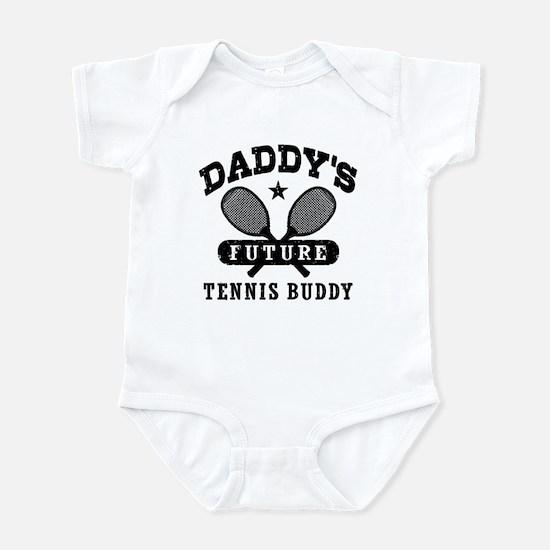 Daddy's Future Tennis Buddy Infant Bodysuit