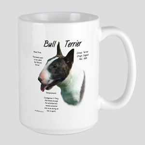 Bull Terrier (colored) 15 oz Ceramic Large Mug