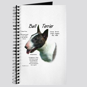 Bull Terrier (colored) Journal