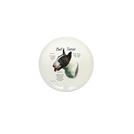 Bull Terrier (colored) Mini Button