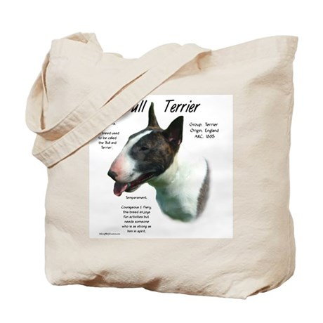 Bull Terrier (colored) Tote Bag