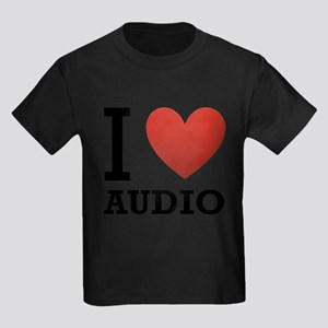 I-Love-Audio Kids Dark T-Shirt
