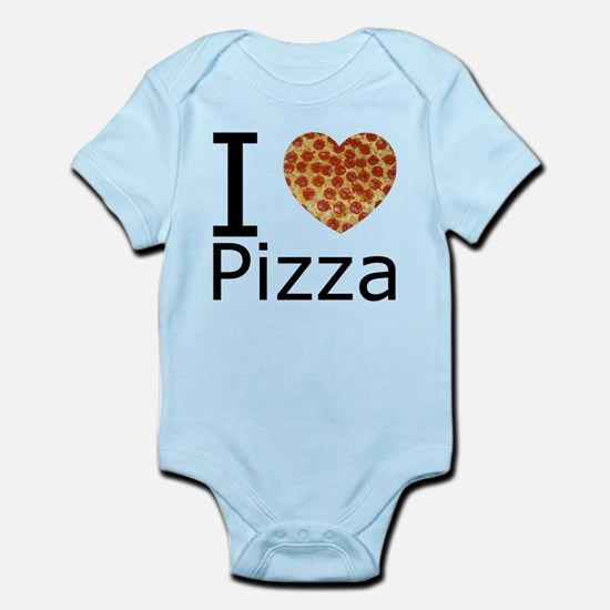 IHeartpizza.png Infant Bodysuit
