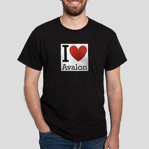 avalon rectangle Dark T-Shirt
