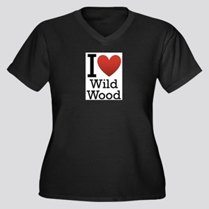 wildwood rectangle Women's Plus Size V-Neck Da