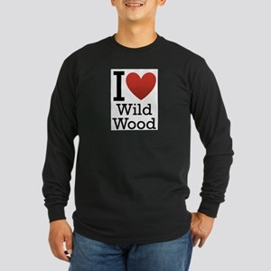 wildwood rectangle Long Sleeve Dark T-Shirt