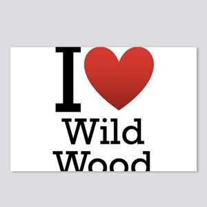 wildwood rectangle Postcards (Package of 8)