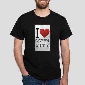 I <3 Ocean City Dark T-Shirt