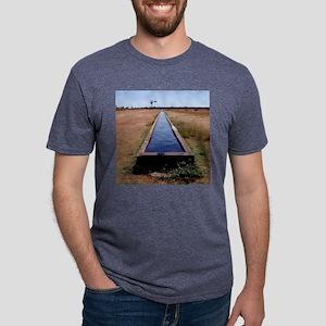 cattletrough Mens Tri-blend T-Shirt
