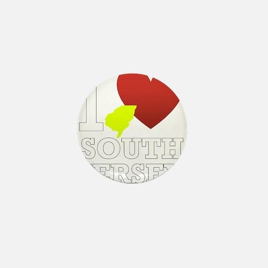 I love South Jersey Mini Button