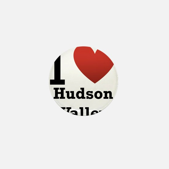 i-love-hudson-valley.png Mini Button