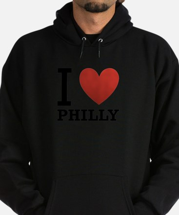 i-love-philly.png Hoodie (dark)