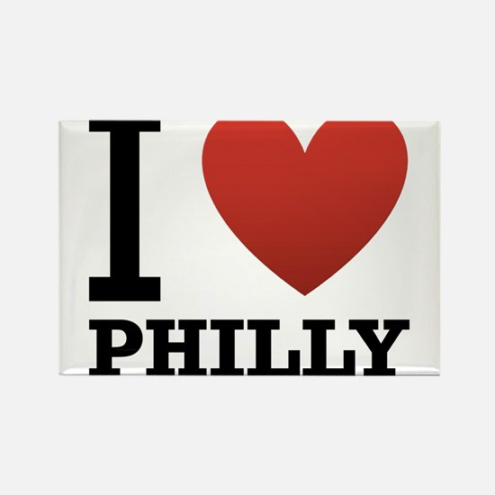 i-love-philly.png Rectangle Magnet (10 pack)