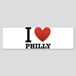 i-love-philly Sticker (Bumper)