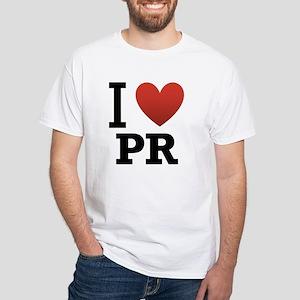 I-Love-Puerto-Rico White T-Shirt