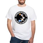Conservative vs Liberal White T-Shirt
