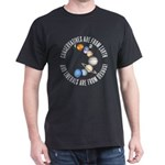 Conservative vs Liberal Black T-Shirt