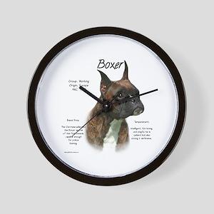 Boxer (brindle) Wall Clock